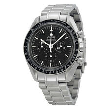 Omega Speedmaster Professional Moonwatch Black Dial Stainless Steel Mens Watch