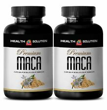 Male Stronger Orgasms Tablets - Premium Maca 1300mg - Nettle Root 2B