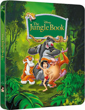 DISNEY THE JUNGLE BOOK DIAMOND EDITION BLU-RAY STEELBOOK BRAND NEW AND SEALED.