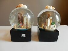 Saks Fifth Avenue RETIRED Captiva Sanibel Islands Florida Musical Snow Globe
