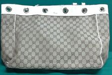 Gucci Large Bag with white leather handles