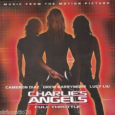 CHARLIE'S ANGELS : FULL THROTTLE Motion Picture Soundtrack CD