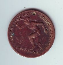 1788 1938 AUSTRALIA'S 150TH ANNIVERSARY YOUTH CARRIES ON MEDAL Arthur Phillip