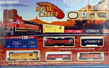 Bachmann HO Scale Train Set Analog Rail Chief 00706