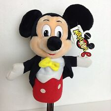 "Mickey Mouse 10"" Hand Puppet Disneyland Walt Disney World Mouseketoys Tag"