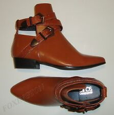 "BRAND NEW BEAUTIFUL WANDERING SOULS NON-LEAHTER TAN BOOTIES 6 ""FALLON"""