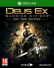Deus EX Mankind Divided D1 Day One Edition XBOX ONE IT IMPORT SQUARE ENIX