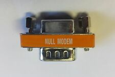 Null Modem mini gender changer adapter DB9 M / F RS232 gender changer Adapter 1