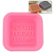Silicone Cake Chocolate Mould Tray 100% Handmade Soap Mold Sugercraft