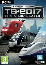 Train Simulator 2017 Edición (Pc Dvd) Nuevo Sellado Trainz Tren