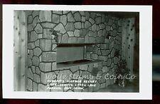1950's RPPC Fireplace Coborn's Harbor Resort Leech Lake Federal Dam MN B1661