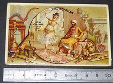 CHROMO CHOCOLAT POULAIN 1890-1910 LA BAYADERE INDE HINDOU HINDOUE