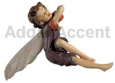 ELDERBERRY FAERY Flower Fairy Ornament Cicely Mary Barker faerie figurine