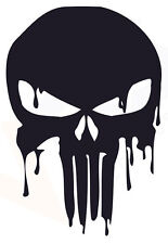 MARVEL Punisher Skull Vinyl Car Decal Sticker 20cm x 14cm