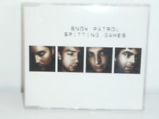 CD SINGLE SNOW PATROL Spitting games SP2INT
