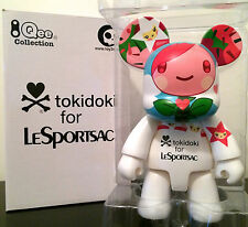 "QEE CAT 8"" TOKIDOKI FOR LESPORTSAC WHITE COLLECTIBLE TOY2R TOY VINYL FIGURE"