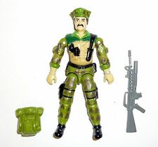 GI JOE LEATHERNECK Vintage Action Figure COMPLETE 3 3/4 C9+ v1 1986