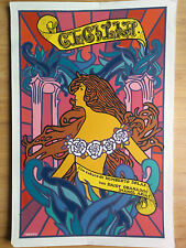 "SILKSCREEN MOVIE POSTER ""CECILIA"" ANTONIO FERNANDEZ REBOIRO CUBA ART ARTE FILM"