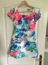 Coast Size 8 Floral Skater Dress Prom Party Wedding Summer