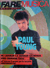 FAREMUSICA 50 1985 Paul Young John Mc Laughlin Steve Ray Vaughan Gaznevada Conte