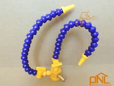 """Dual Coolant 1/4"""" Hose With Valve On Magnetic Base for Milling"""