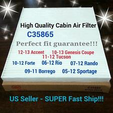 For ACCENT10-15,TUCSON 11-15,VELOSTER SPORTAGE CABIN AIR FILTER 35865+ FAST SHIP