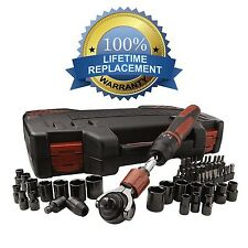 Craftsman 53-piece Mach Series Tool Set, SAE and Metric Socket Set 3/8 Ratchet