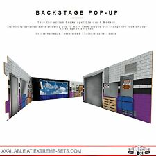 Classic Backstage Pop-Up Diorama, NOT WWE RAW, Mattel, Elite, , Ring, Figure