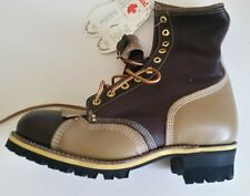 Men's Gorilla #7781 Safety Boot with vibram soles 9-3E  --  MADE IN CANADA