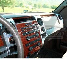 FORD F-150 F150 CREW EXTENDED CAB INTERIOR WOOD DASH TRIM KIT 09 2010 2011 2012