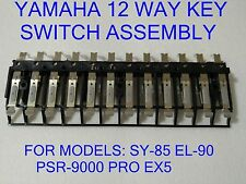 YAMAHA 12 WAY KEY SWITCH ASSEMBLY NB107120 NB10712R SY-85 EL-90 PSR-9000 PRO EX5