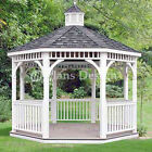 12' Classic Octagon Gazebo Do It Yourself Plans, Material List Included  #10012