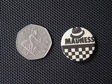 Vintage Badge - MADNESS / SKA / 2 tone