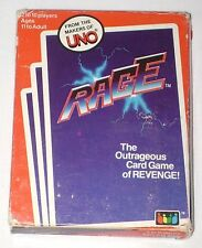 Vintage 1983 RAGE Card Game of Revenge from Makers of Uno