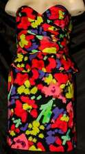New Size 14 New Look  MultiColour Dress Ideal Mother of the Bride or Cruise wear