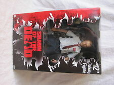 "RARE - 2004 - NECA - SHAUN OF THE DEAD - TALKING 12"" ACTION FIGURE - NEW IN BOX"