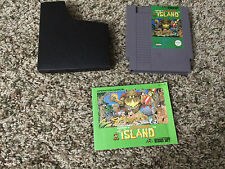 Adventure Island (Nintendo Entertainment System, 1988) NES Cart Manual Tested