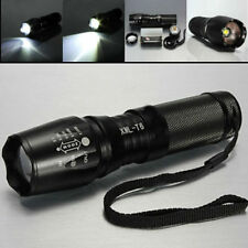 Military Grade Tactical Flashlight LED 1800 Lumen 2000x Waterproof TC1200 Design