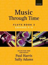 Music through Time Book 3 (flute); Harris, P & Adams, S, FMW - 9780193571839