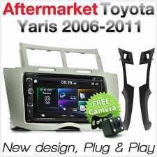 Car DVD Player USB Radio For Toyota Yaris 2006-2011 Fascia Facia MP3 Stereo ET