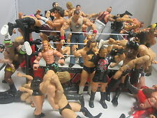 Wrestling Figure Lot 37 Wrestlers WWE WWF WCW HHH Stone Cold Rey Mysterio Edge