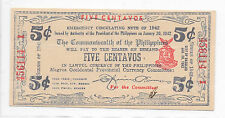 Philippines Emergency Currency Negros Bacolod 5 Centavos Nice - # 456114