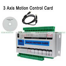 3 Axis CNC USB Motion Control Card Module Breakout Board for Smooth Stepper