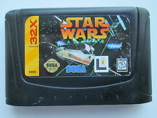 Star Wars Arcade (Sega 32X, 1994) Game Only--Untested (NTSC/US/CA)