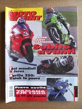 MOTOSPRINT n°8  2001       [Q23]  TEST YAMAHA FJR 1300