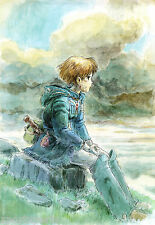 NAUSICAA OF THE VALLEY OF THE WIND POSTER PRINT - WALL ART - BUY 2 GET 1 FREE