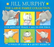 "The Large Family Collection: ""Five Minutes' Peace &..., Murphy, Jill Hardback"