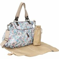 OiOi Indian Paisley Gathered Tote Diaper Bag NEW