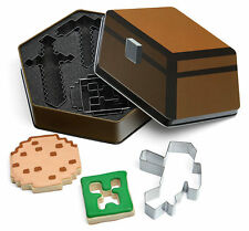 Minecraft formine per biscotti Think Geek Creeper PICCONE SPADA cottura Player Set