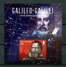 Montserrat 2014 MNH Galileo Galilei 450th Anniv 1v S/S Astronomy Space Stamps